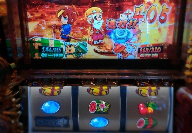 【約90万分の1】黄門ちゃま喝でベルリプ6連して赤カウンター7連続発動!