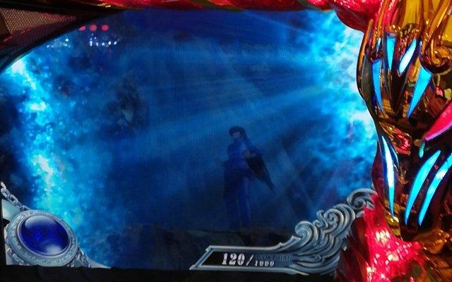 聖闘士星矢海皇で小宇宙ポイント狙いから「蓄積大」発生で聖闘士ラッシュ!