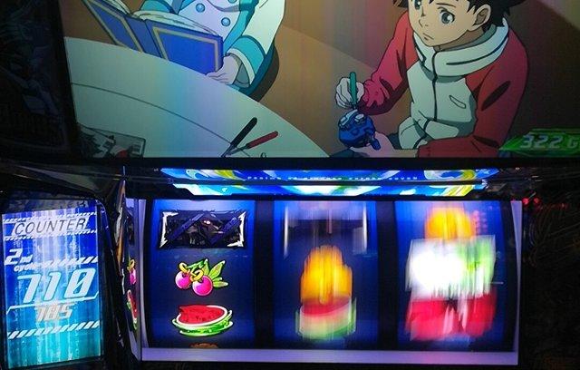 エウレカ3で「コンパクドライブ虹色」から中段チェリー降臨!!